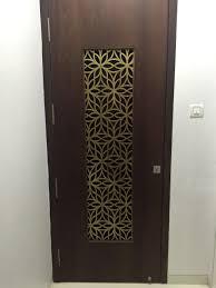 Door Grill Design Metal Laser Cut Main Door Grill In Brass Antique Finish
