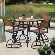 Patio Height Dining Set - patio dining sets balcony height video and photos