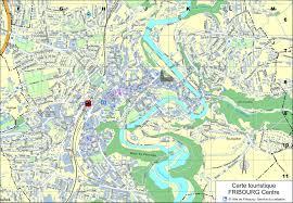 Germany Map Freiburg by Fribourg City Maps Switzerland Maps Of Fribourg Freiburg