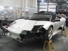 salvage lamborghini aventador for sale dameged exotics for sale for portages only spotting