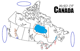 Blank Map Of Africa Quiz by Canada Map Quiz Canada Map Canadian Provinces Quiz Test Your