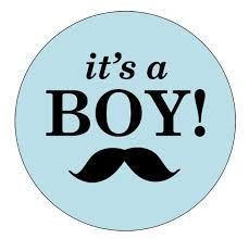 mustache cake topper it s a boy mustache cake topper