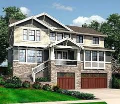 front sloping lot house plans house plans sloping lot house plans for sloping lots chic and