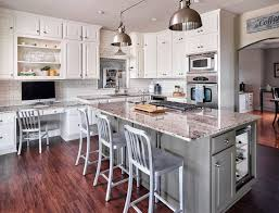 white kitchen cabinets with granite countertops photos painting cabinets before or after changing the backsplash