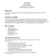 100 Skills Sample In Resume by 100 Sample Resume Format In Canada Charming Design College