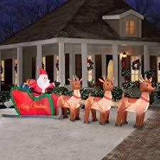 Christmas Decorations Outdoor Inflatable by 146 Best Outdoor Christmas Inflatables Images On Pinterest