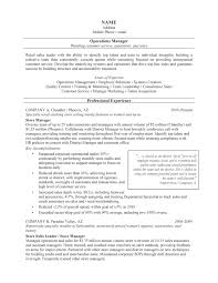 Resume Professional Accomplishments Examples by It Operations Manager Resume Resume For Your Job Application