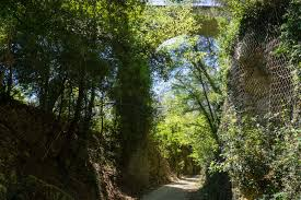 Italy Country Walkers by Walking The Spoleto Norcia Railway Umbria Italy