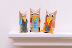 Owl Canisters For The Kitchen Cardboard Tube Owls