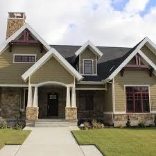 Modern Craftsman House Plans 35 Best Craftsman Exteriors Images On Pinterest Craftsman