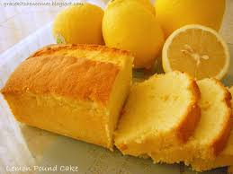 lemon pound cake cook diary
