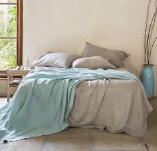 summer bed rough linen soft summer bedding 100 natural linen