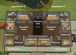 mod the sims the quarter house apartments