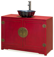 Vanity Cabinet And Sink Elmwood Ming Vanity Cabinet Asian Bathroom Vanities And Sink