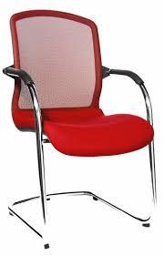 siege visiteur fauteuil visiteur tissu et filet oga