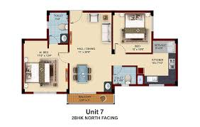 North Facing Floor Plans Apartments With Private Terrace Garden In Chennai Near Pallavaram