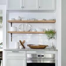 kitchenshelves com wood and iron kitchen shelves design ideas
