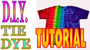 Colorado Flag Tie Dye Shirt Tie Dye Short Tutorial U2014 Crafthubs