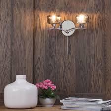 Bedroom Wall Lights With Pull Cord Uk Sammi Decorative Wall Light With Pull Cord Switch 2 Light Chrome