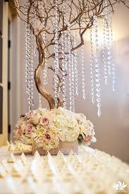 Manzanita Centerpieces Ivory Red Gold Manzanita Tree Centerpiece Wedding Reception