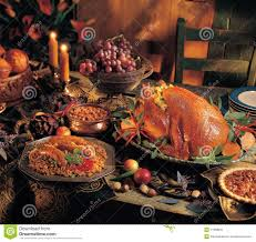 turkey dinner stock image image 11358841