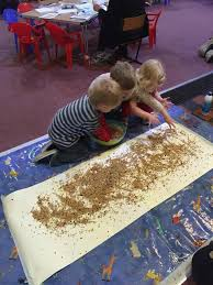 messy church parable of the sower sow some seed glue on