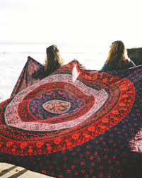 Light Colored Tapestry Mandala Hippie Wall Tapestries From The Bohemian Shop