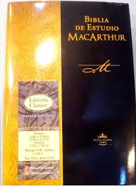biblia de estudio macarthur librería clamor