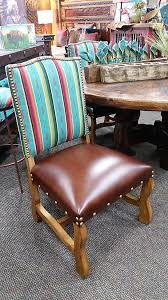southwestern dining room furniture southwestern dining chairs hancrafted serape dining room chairs