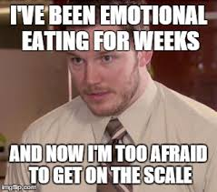 Emotional Eating Meme - i need to figure out how to get back on the wagon imgflip