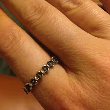 ring size 9 63 pandora jewelry silver flower pandora ring size 9 from
