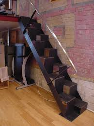 furniture creative and unique stairs for space saving ideas