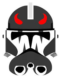 by p d commander helmet by pd black on deviantart