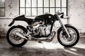 bmw motorcycle cafe racer sette nero creating custom made motorcycles in london