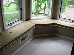 bay window seat cushions beautifying your window with window seat cushions bay window seat