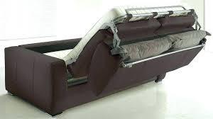 canape rapido cuir canape convertible 2 place lit gain de canapac modulable places
