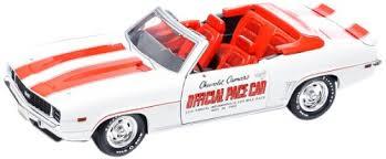69 camaro pace car amazon com greenlight 1969 indianapolis 500 pace car chevrolet