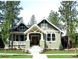 one craftsman home plans bungalow single house plans craftsman style front porch