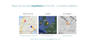 Create A Map With Pins Google Maps Widget Pro Review The Fastest Maps For Wordpress