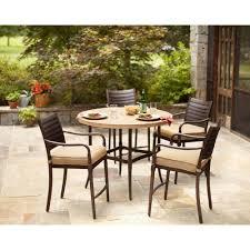 Woodbury 7 Piece Patio Dining Set - exterior enchanting patio design with comfortable hampton bay
