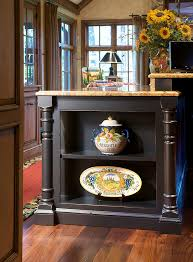 Kitchen Island With Open Shelves Kitchen Island With Open End Shelves Moldings U0026 Decorative