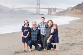 Photographer San Francisco The Hirzel Family Baker Beach Family Photographer San Francisco