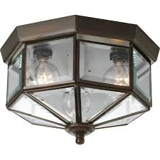 Ceiling Lighting Fixtures by Progress Lighting P5788 10 Octagonal Close To Ceiling Fixture With
