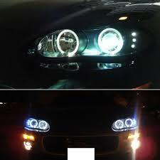 02 camaro headlights amazon com 6000k xenon hid kit 98 02 chevy camaro ccfl halo