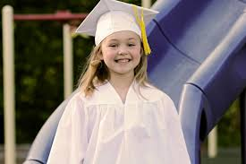 pre k cap and gown class of 2030 pre k grad session southern illinois photographer