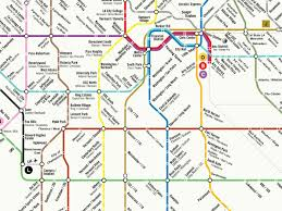 Valley Metro Light Rail Map by Could La U0027s Rail System Ever Look Like This Curbed La