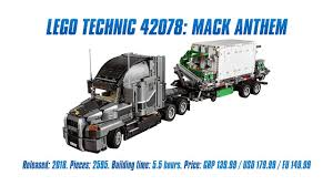 sariel pl mustang technic 42078 mack anthem in depth review speed build 4k