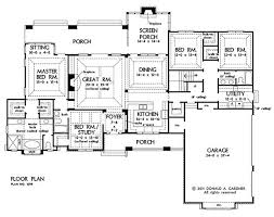 House Plans With Kitchen In Front 144 Best Home Plans Images On Pinterest Dream House Plans House