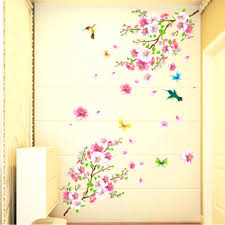 wall ideas cherry blossom tree wall decor cherry blossom wall japanese cherry blossom wall decor large cherry blossom flower butterfly tree wall stickers art decal home decorchina mainland japanese cherry blossom metal