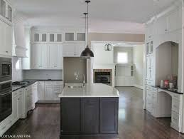 Kitchens With Large Islands Kitchen Designs White Cupboard Modern Cabinets Black And